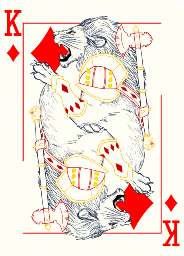 Bicycle_Royal_Wilderness_Playing_Cards_The_King_of_Diamonds