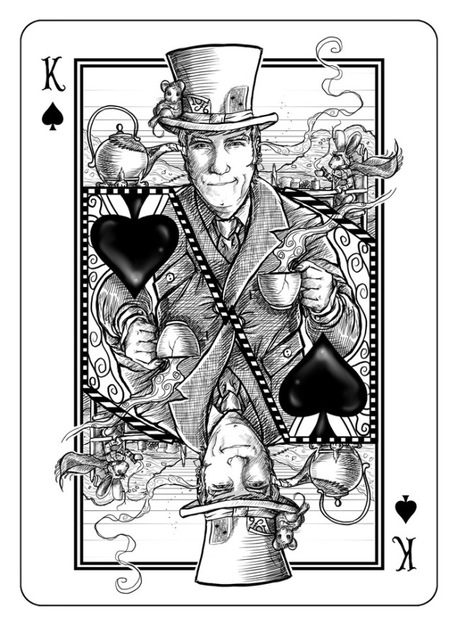 Bicycle-The-White-Rabbit-Playing-Cards-King-of-Spades