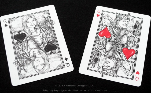 Bicycle-White-Rabbit-Playing-Cards-Queen
