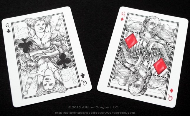 Bicycle-White-Rabbit-Playing-Cards-Queen-2