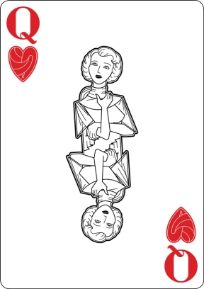 Black-Hearted-Playing-Cards-by-Raquel-Sordi-Queen-of-Hearts