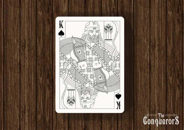 Conquerors_Playing_Cards_The_King_of_Spades