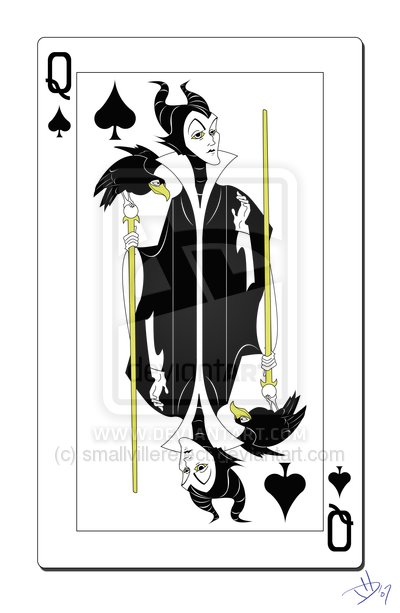 Disney_Villains_Playing_Cards_Queen_of_Spades_smallvillereject