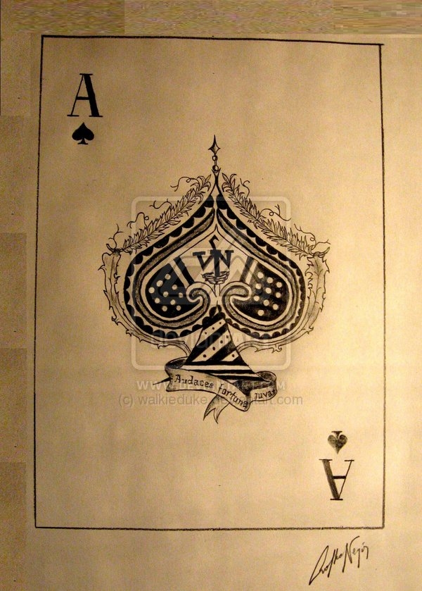 Duke's_Place_Playing_Cards_The_Ace_of_Spades