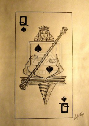Duke's_Place_Playing_Cards_The_Queen_of_Spades