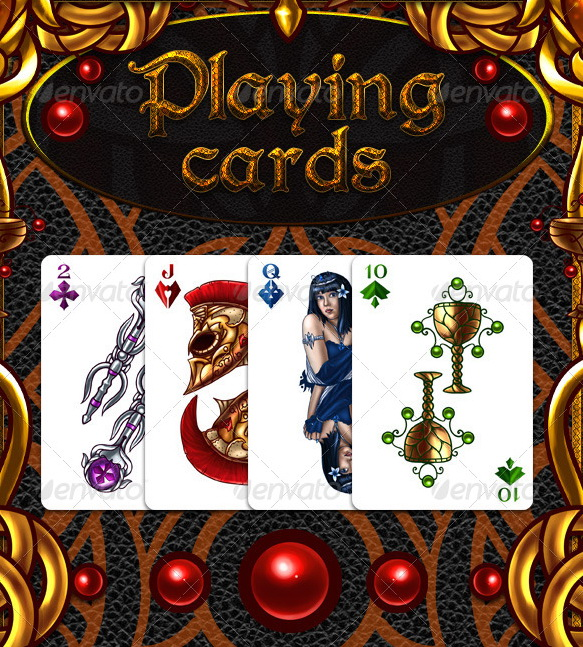 Fantasy_Playing_Cards_by_nelutuinfo_1