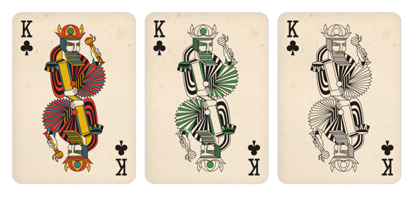 Gosia_Herba_Playing_Cards_The_King_of_Clubs