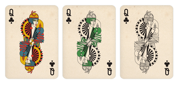 Gosia_Herba_Playing_Cards_The_Queen_of_Clubs