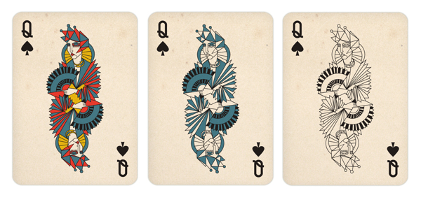 Gosia_Herba_Playing_Cards_The_Queen_of_Spades