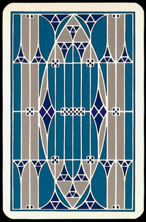 Jugendstil_Art_Nouveau_Playing_Cards_Back