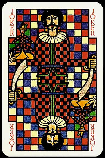 Jugendstil_Art_Nouveau_Playing_Cards_Joker