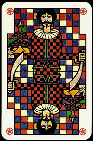 Jugendstil_Art_Nouveau_Playing_Cards_Joker_1