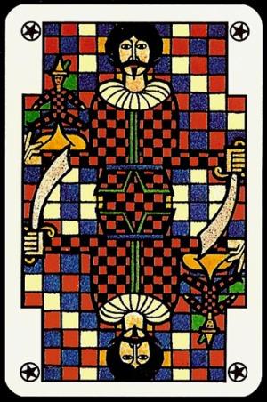 Jugendstil_Art_Nouveau_Playing_Cards_Joker_2