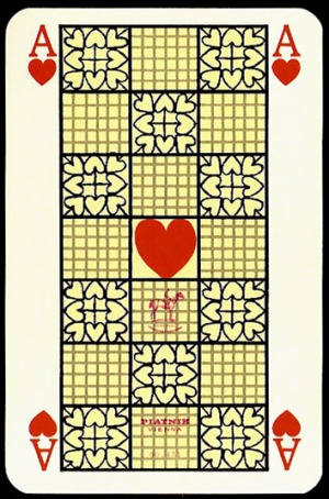 Jugendstil_Art_Nouveau_Playing_Cards_The_Ace_of_Hearts