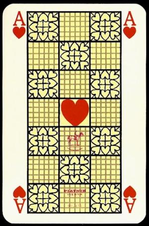 Jugendstil_Art_Nouveau_Playing_Cards_The_Ace_of_Hearts