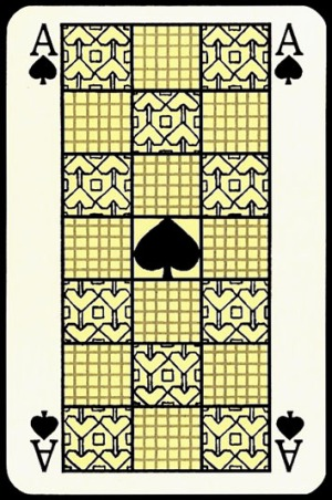 Jugendstil_Art_Nouveau_Playing_Cards_The_Ace_of_Spades