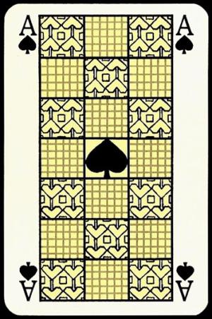 Jugendstil_Art_Nouveau_Playing_Cards_The_Ace_of_Spades