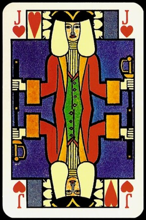 Jugendstil_Art_Nouveau_Playing_Cards_The_Jack_of_Hearts
