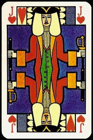 Jugendstil_Art_Nouveau_Playing_Cards_The_Jack_of_Hearts