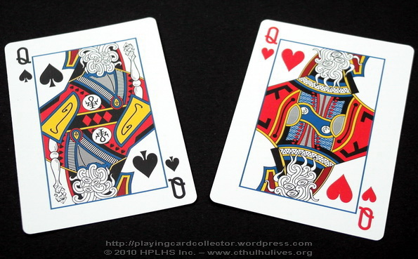 Lovercraft-Cthuhu-Mythos-Playing-Cards-Queens