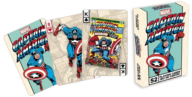 Marvel-Playing-Cards-Captain-America