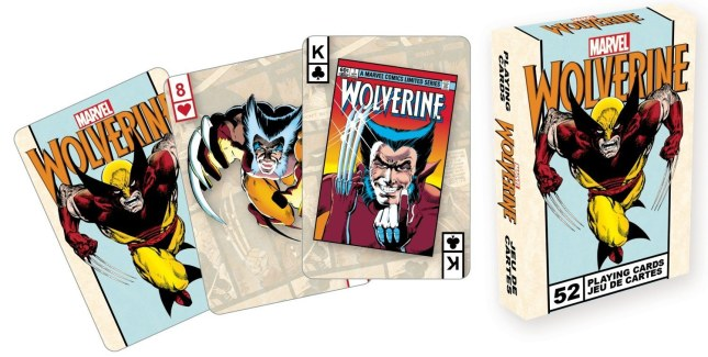 Marvel-Playing-Cards-Wolverine