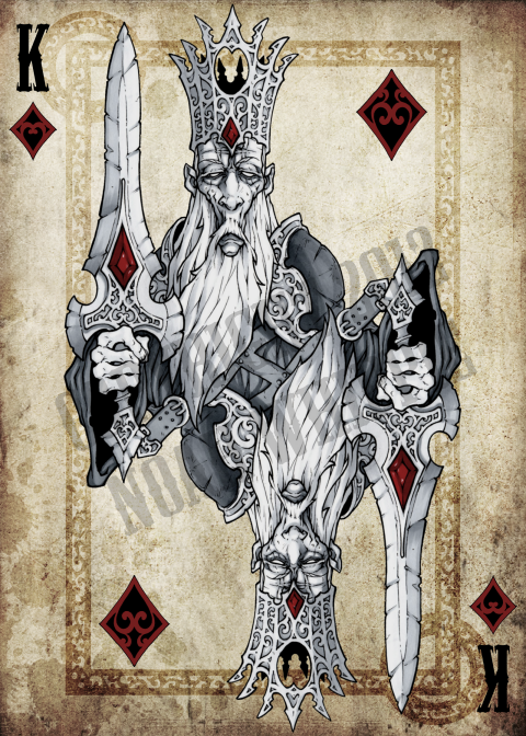 Noah_Wippie_Dark_Arts_Playing_Cards_The_King_of_Diamonds