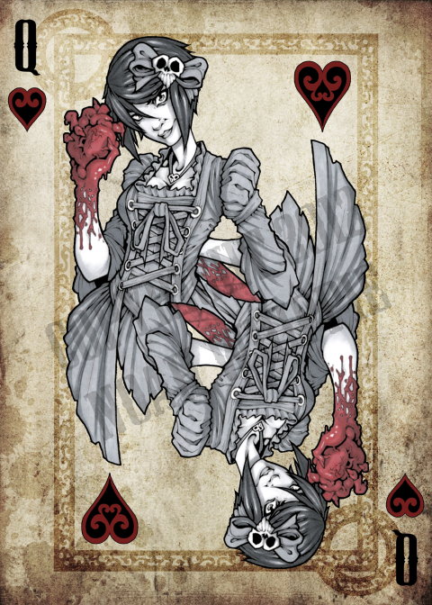 Noah_Wippie_Dark_Arts_Playing_Cards_The_Queen_of_Hearts