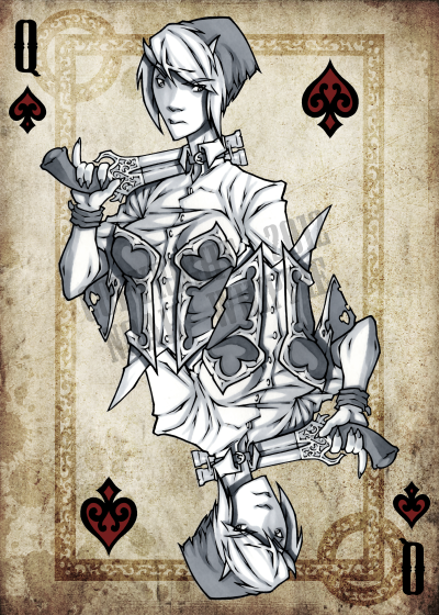 Noah_Wippie_Dark_Arts_Playing_Cards_The_Queen_of_Spades