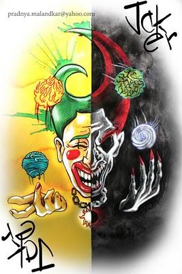 P-Malandkar-Four-Elements-Playing-Cards-Joker