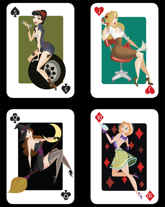 Pin-Up-Playing-Cards-by-Kelsey-Lynn-Cretcher
