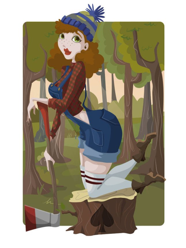 Pin-Up-Playing-Cards-by-Kelsey-Lynn-Cretcher-Jack-of-Spades