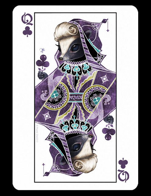 Playing Card Art: Queens by Phoenix Chan | PLAYING CARDS ...