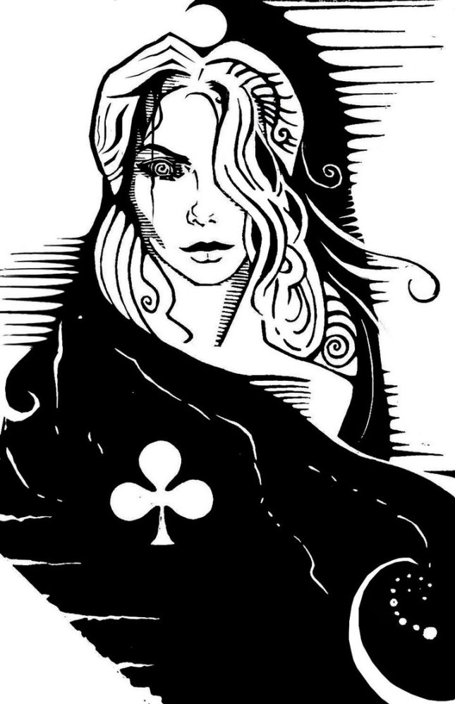 The_Queen_of_Clubs_by_piotrharold