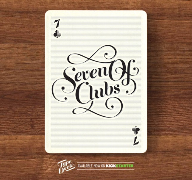 The_Type_Playing_Cards_The_Seven_of_Clubs