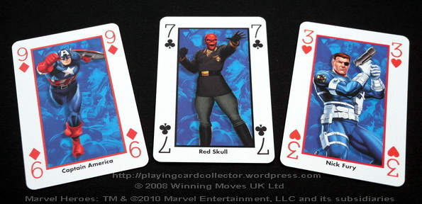 Waddingtons-Marvel-Heroes-Playing-Cards-Captain-America