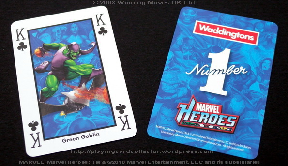 Waddingtons-Marvel-Heroes-Playing-Cards-King-of-Clubs