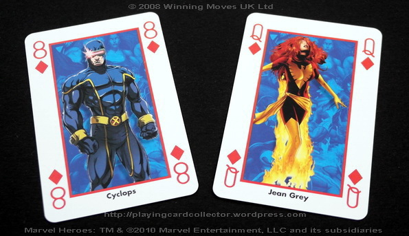 Waddingtons-Marvel-Heroes-Playing-Cards-Cyclops