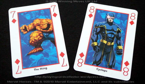 Waddingtons-Marvel-Heroes-Playing-Cards-Diamonds-7-8