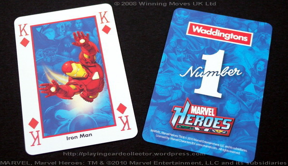Waddingtons-Marvel-Heroes-Playing-Cards-King-of-Diamonds