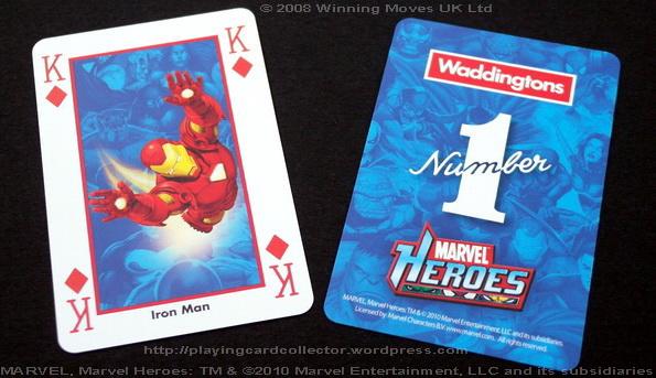 Waddingtons-Marvel-Heroes-Playing-Cards-King-of-Diamonds