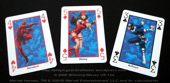 Waddingtons-Marvel-Heroes-Playing-Cards-Electra
