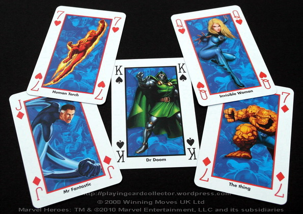 Waddingtons-Marvel-Heroes-Playing-Cards-Funtastic-Four