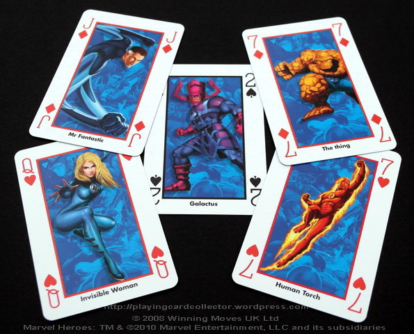 Waddingtons-Marvel-Heroes-Playing-Cards-Funtastic-Four-2