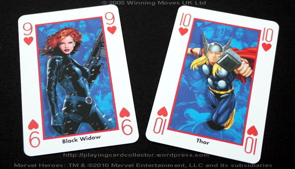 Waddingtons-Marvel-Heroes-Playing-Cards-Hearts-9-10