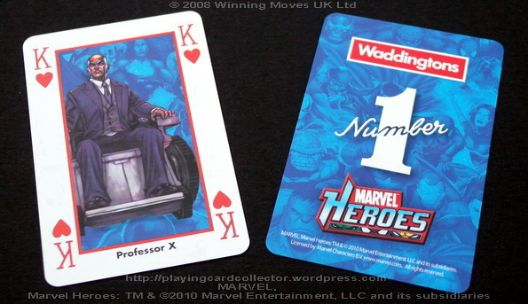Waddingtons-Marvel-Heroes-Playing-Cards-King-of-Hearts