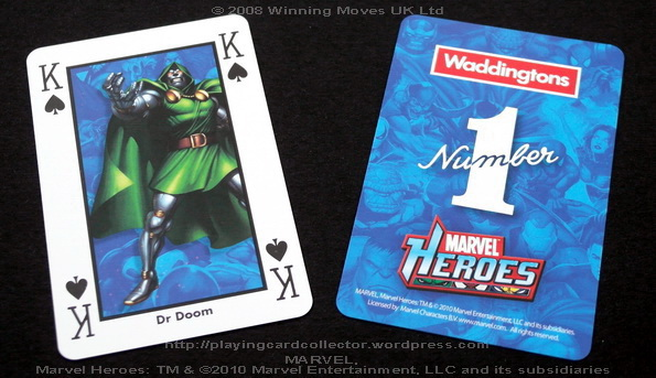 Waddingtons-Marvel-Heroes-Playing-Cards-King-of-Spades