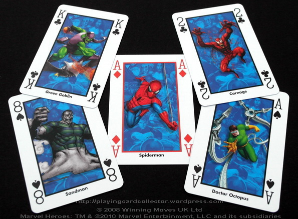 Waddingtons-Marvel-Heroes-Playing-Cards-Spiderman