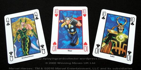 Waddingtons-Marvel-Heroes-Playing-Cards-Thor