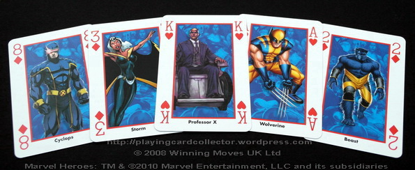 Waddingtons-Marvel-Heroes-Playing-Cards-X-Men